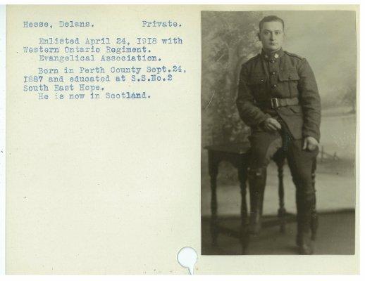 Hesse, Delans