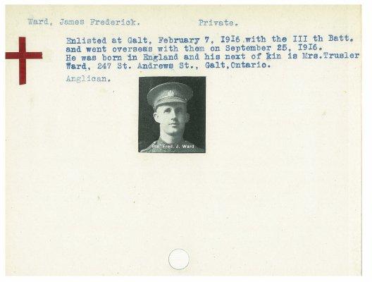 Ward, James Frederick