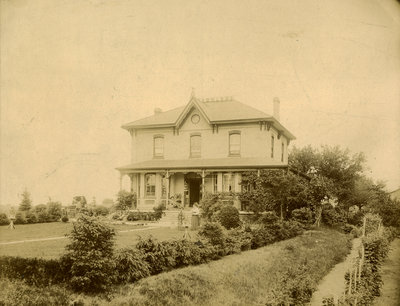 Home of Peter Erb William Moyer, Queen Street South