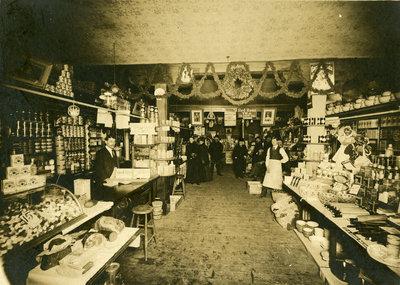 E.J. Shantz Grocery store, Frederick Street, Berlin