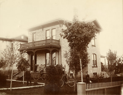 Charles Ahrens family home, Berlin Ontario