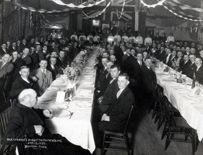 Old Comrades Banquet, Kitchener, Ontario