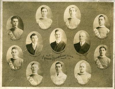 Acadian Hockey Club, 1915-16