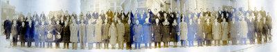 Mennonite Bible School Class, 1932