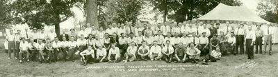 Waterloo County Branch Garage Operators Association Picnic at Klies Farm, Bridgeport, Ontario, 26 July 1939