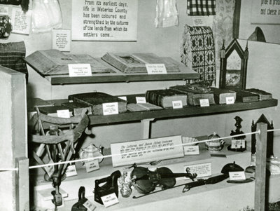 Waterloo County pioneer artifacts display