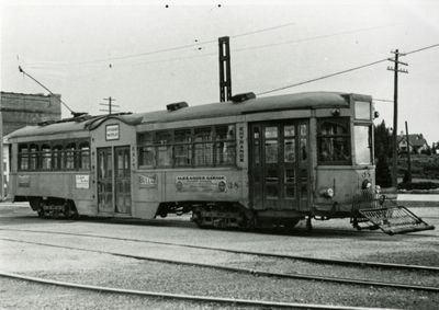 Kitchener Public Utilities Commission street car no. 38
