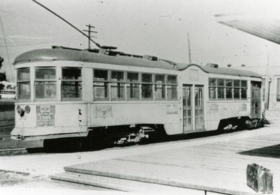 Kitchener Public Utilities Commission street car no. 36