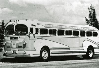 Kitchener Public Utilities Commission charter bus
