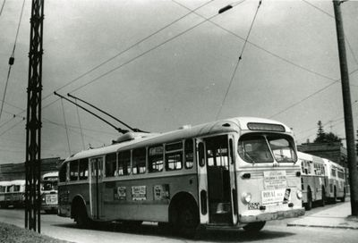 Kitchener Public Utilities Commission trolley bus