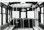 Interior of Kitchener-Waterloo street car no. 64