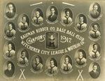 Kaufman Rubber Company Baseball Club - Kitchener City League and Waterloo County Champions 1917