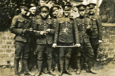 Canadian soldiers, World War One