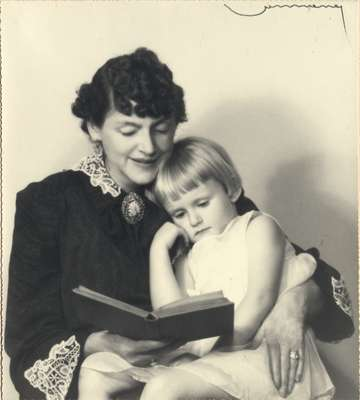 Marthabel Cook and daughter