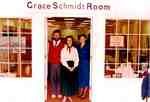 Staff of the Grace Schmidt Room, Kitchener Public Library