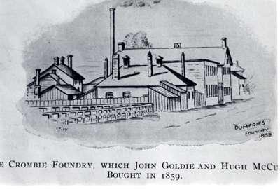 Crombie Foundry, Galt, Ontario