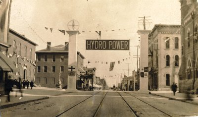 Hydro power celebration, Berlin, Ontario
