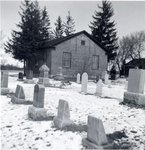 Bridgeport Free Church and cemetery