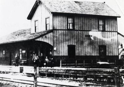 Doon, Ontario railway station and freight shed