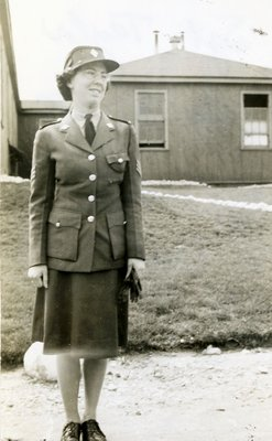 Sargeant Taylor, Canadian Women's Army Corps