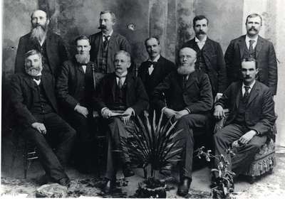 Board of Managers, Stanley Street Church, Ayr, Ontario