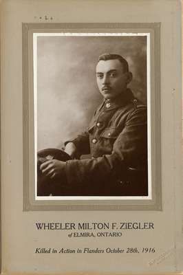 Wheeler Milton F. Ziegler