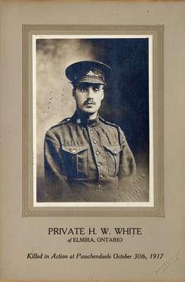 Private H.W. White