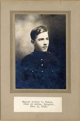 Sapper Arthur C. Rudow