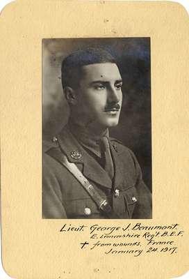 Lieutenant George J. Beaumont