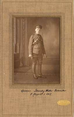 Gunner Stanley Walter Schreiter