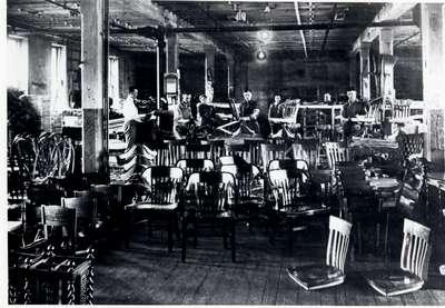 H. Krug Furniture Company factory