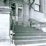 Front doors, Kitchener Public Library