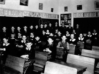 Groupe d'élèves