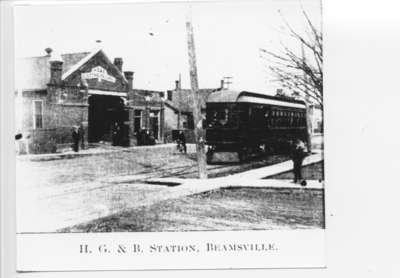 HG&B Station, Beamsville