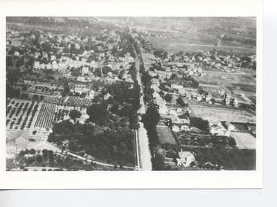 Aerial View of Beamsville