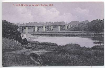 C.N.R. Bridge at Jordan