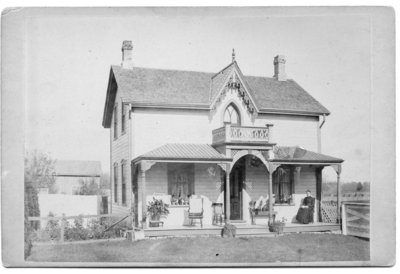 Unidentified Frame House near London, Ontario