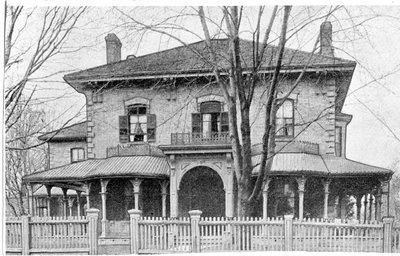 T. H. Carling Residence, 677 Talbot Street, London, Ontario