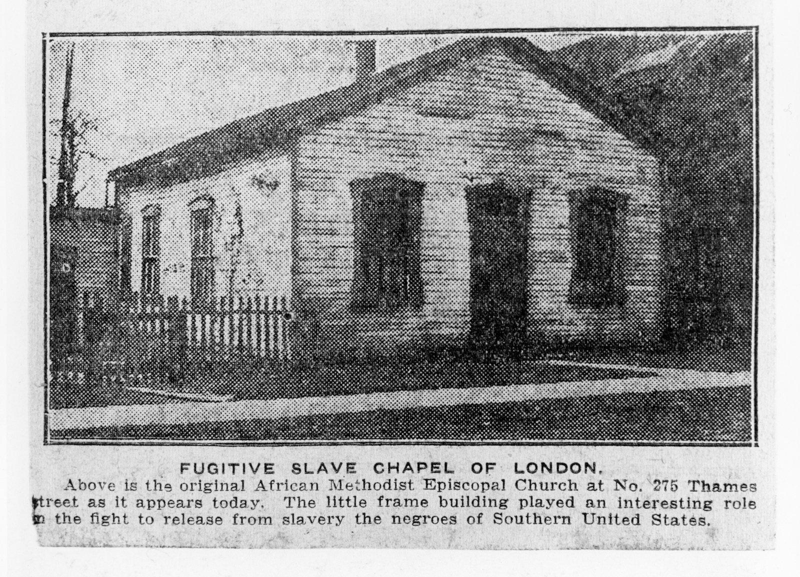 Fugitive Slave Chapel