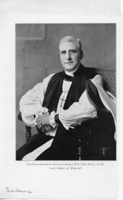 The Right Reverend Arthur Carlisle