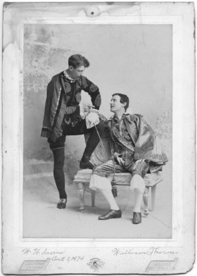 W.H. Irvine and William Thorne from the London Opera Company, London, Ontario