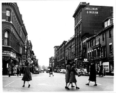 Richmond Street, looking south from Dundas Street, London, Ontario