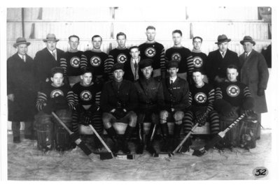 Unidentified Hockey Team, London, Ontario