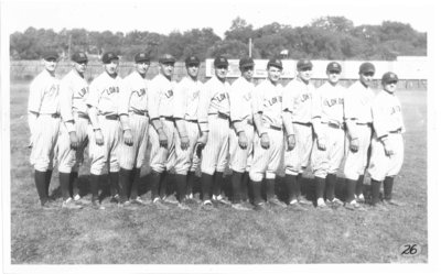 London Tecumsehs Baseball Team