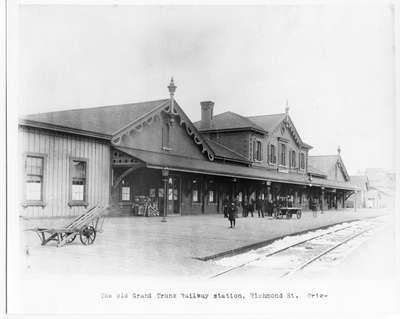 Grand Trunk Railway Depot, London, Ontario