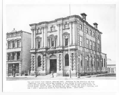 Post Office, London, Ontario