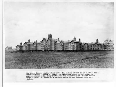 London Asylum for the Insane, London, Ontario