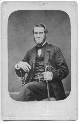 Portrait of Marcus Holmes, London, Ontario