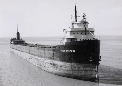 PETER ROBERTSON aground east of Jordan Harbour