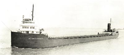 COL. JAMES M. SCHOONMAKER downbound in Lake St. Clair